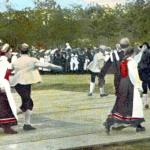 Dancers in traditional dress