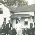 Tvedten family in the early 1900s
