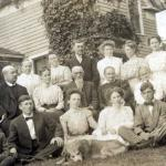 Eric S. Holland's family circa 1906