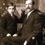 Elmer and Axel Olsen circa 1904