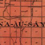 Map of Na Au Say Township 1922
