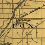 Map of Fox Township 1922