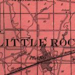 Map of Little Rock Township 1922