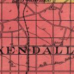 Map of Kendall Township in 1922