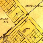 Map of Millbrook circa late 1800's