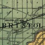 Map of Bristol Township 1922