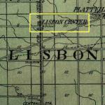 Map of Lisbon Center Area 1922