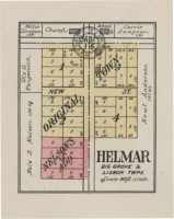 Plat of Helmar in 1922