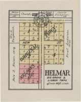 Plat of Helmar in 1922