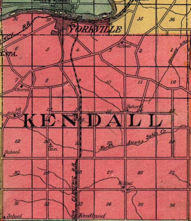 Place Names Amp Geographical Features Of Kendall County