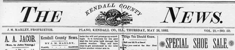 Kendall County News