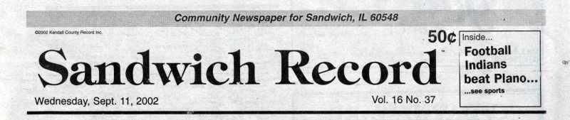 Sandwich Record
